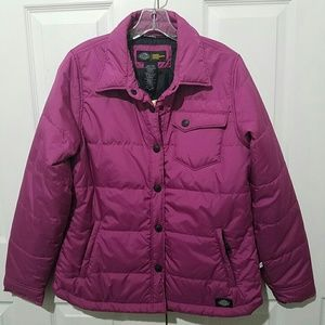 Dickies Womens Performance Quilted Jacket Size M